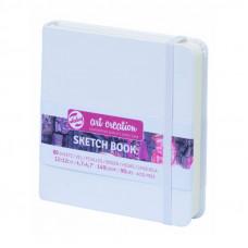 Блокнот для графіки, 12х12см, 80л., 140 г/м2, білий, Talens Art Creation