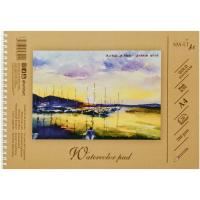 Альбом для акварелі А4, 20л., 200 г/м2, Gold Smiltainis AS-20TS