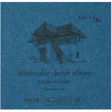 Альбом для акварелі, 9*9см., 24л, 280г/м2, AUTHENTIC Baby SMILTAINIS