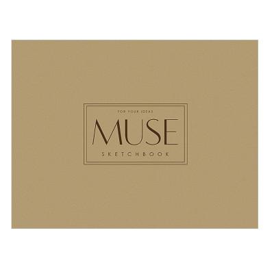 Альбом-склейка для ескізів, A4+, 40л., 100г/м2, MUSE Sketch Школярик