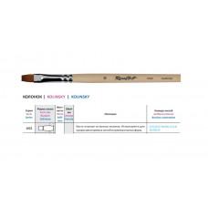Колонок плоский, № 2, Roubloff 1022, довга ручка, художній пензель