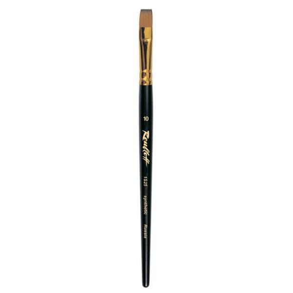 Колонок плоский (имитация), № 2, Roubloff 1S25, короткая ручка, художественная кисть