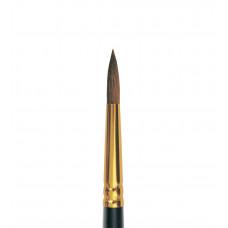 Колонок круглий (імітація), № 00, Roubloff 1S15, коротка ручка, художній пензель