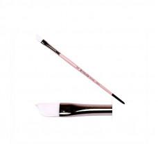 Синтетика кутова, № 5/8, KOLOS 1023A Flamingo, коротка ручка, художній пензель