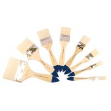 Щетина флейц, № 15, KOLOS 8043 Wide, коротка ручка, художній пензель