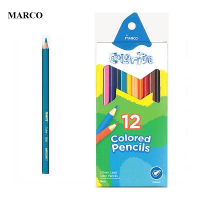 Набір кольорових олівців. 12 кольорів, MARCO Colorite 1100-12CB