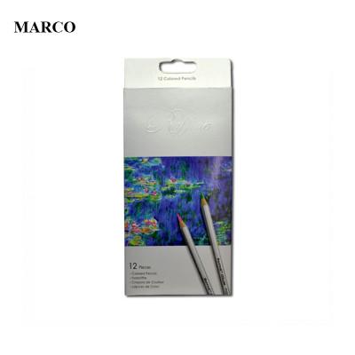 Набір кольорових олівців, 12 кольорів, MARCO Raffine 7100-12CB