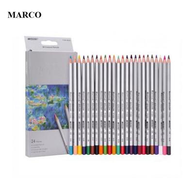 Набір кольорових олівців, 24 кольорів, MARCO Raffine 7100-24CB