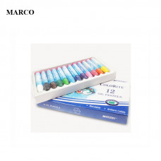 Набір пастелі маслянної, 12 кольорів, Marco ColoRite 1100OP-12CB