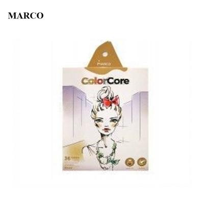 Набір кольорових олівців, 36 кольорів, Marco ColorCore 3130-36CB