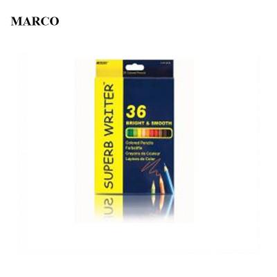 Набір кольорових олівців, 36 кольорів, Marco Superb Writer. 4100-36CB