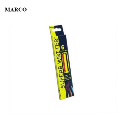 Набір кольорових олівців, 6 кольорів, Marco Superb Writer. 4100-6CB