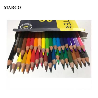 Набір кольорових акварельних олівців, 36 кольорів, Marco Superb Writer (Water Color Pencils). 4120-36CB