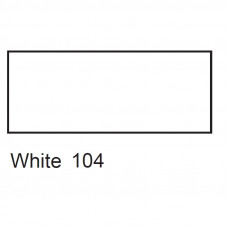 Біла акрилова фарба для тканин, 50 мл., Decola 4128104