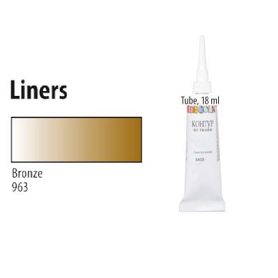 Бронза контур для тканини, Decola, 18мл