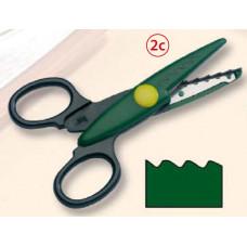 Фігурні ножиці, №2c, 14 * 6,5 см, Folia