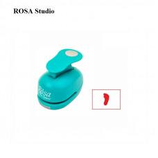 Фігурний дирокол Слід , 1,6 см, ROSA Талент