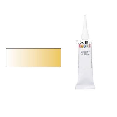 Золото, контур для скла та кераміки, Decola, 18мл