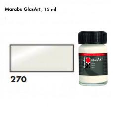 Біла перлова, Marabu-GlasArt, 15мл, на основі розчинника