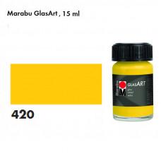Жовта, Marabu-GlasArt, 15мл, на основі розчинника