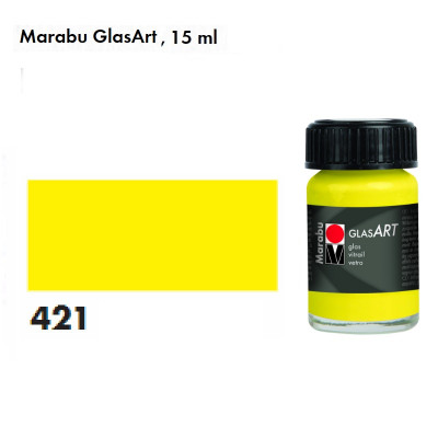Лимонна, Marabu-GlasArt, 15мл, на основі розчинника