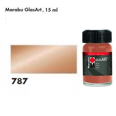 Мідь металік, Marabu-GlasArt, 15мл, на основі розчинника