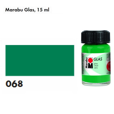 Зелена темна, Marabu Glas, 15мл, на водній основі 130639068