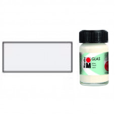 Біла, Marabu Glas, 15мл, на водній основі 130639070