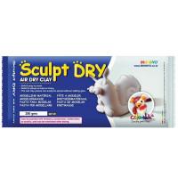 Біла самозастигаюча маса для моделювання, 250г., Sculpt Dry, MUNGYO